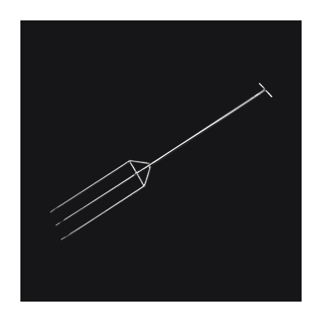 C02065383CRUCIBLE FORK