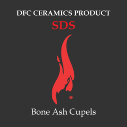 Bone Ash Cupel SDS
